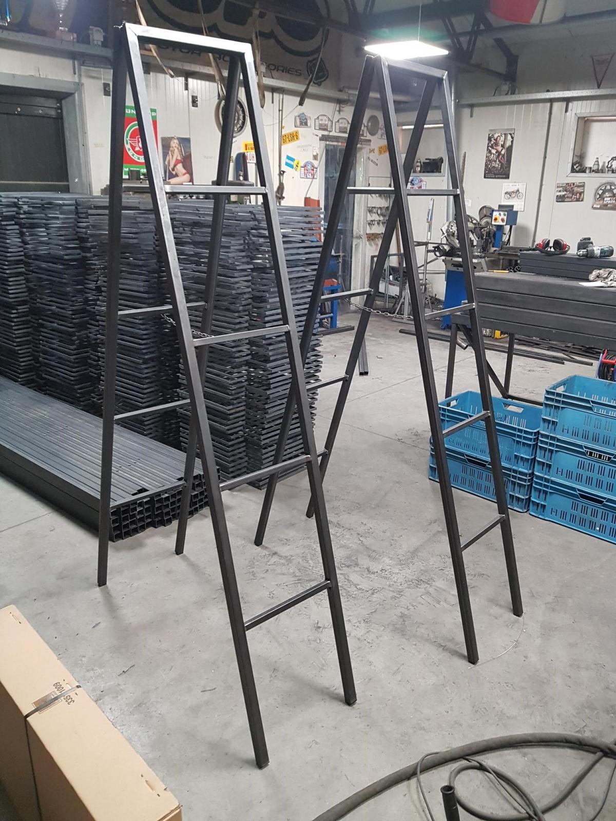 showroom stellingen