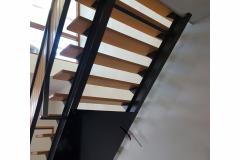 afdek platen tegen trap maken