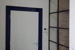 stalen deur met glas