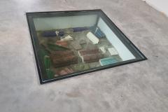 stalen frame met glas